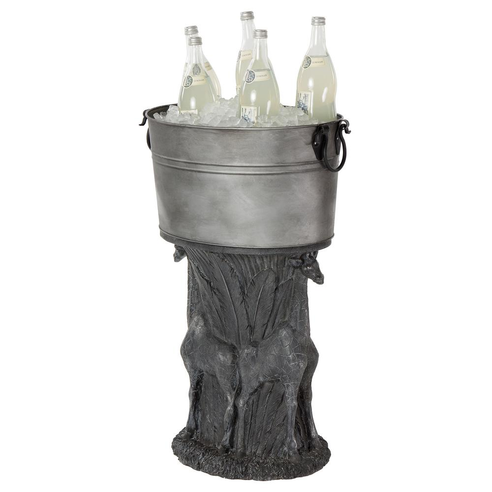 Global Decor Moves Outdoors Bombay Outdoors: Bombay Outdoors 21 Qt. Giraffe Beverage Tub-A100050