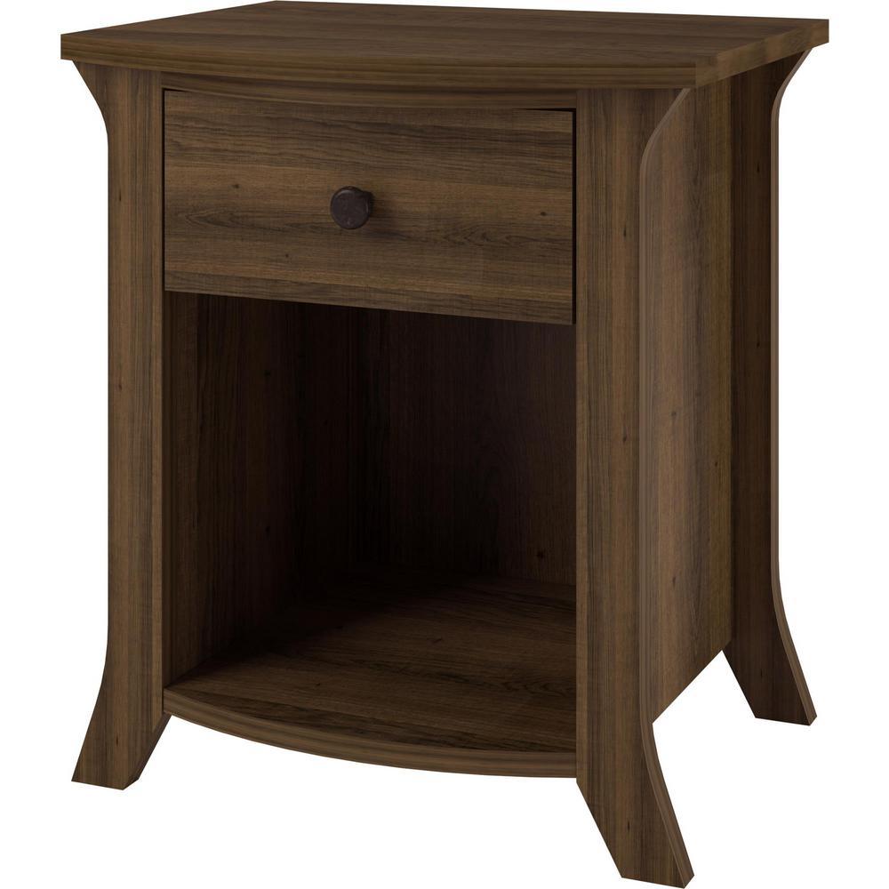 Palma Brown Oak Accent Table