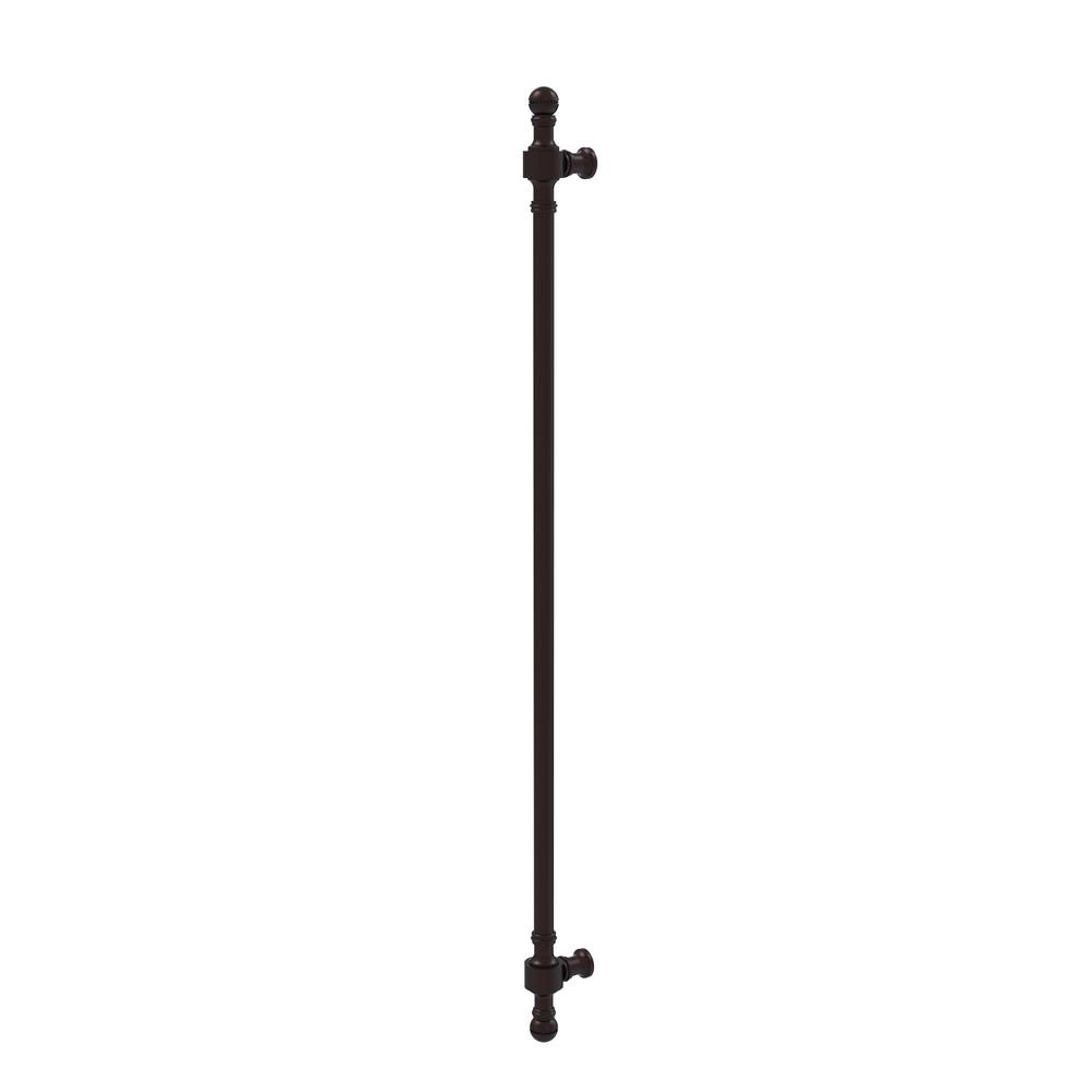 Retro Dot Collection 18 in. Beaded Refrigerator Pull in Antique Bronze