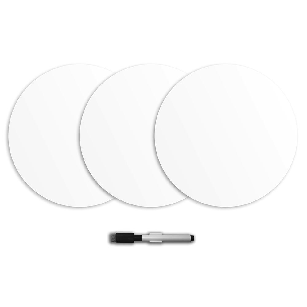 Ghost Dry Erase Dot Decals (Set of 6)