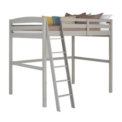 Concord Grey Twin Size High Loft Bed