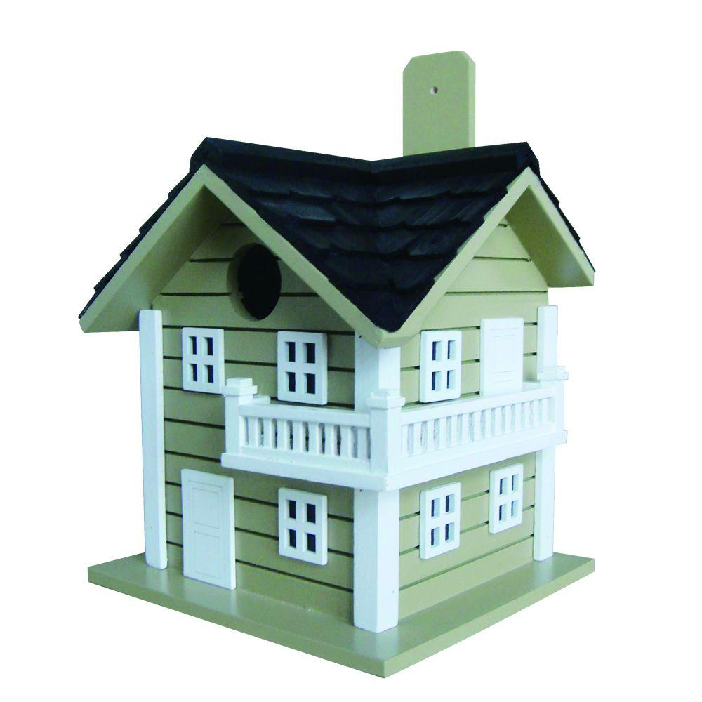 Home Bazaar Surf City Beach House Birdhouse (Green)