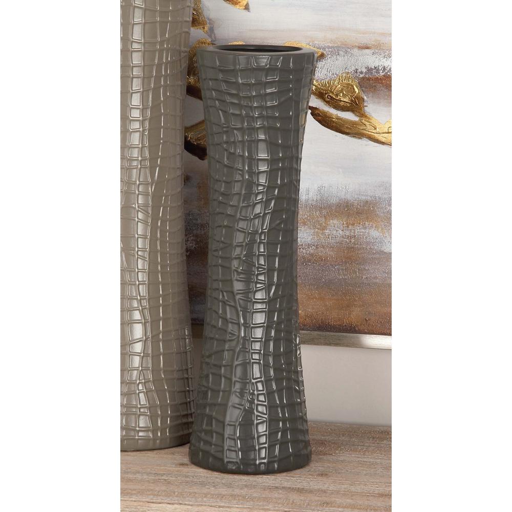 Modern gold ceramic decorative vases set of 3 59916 the home depot ceramic decorative vases in black white and gray set reviewsmspy