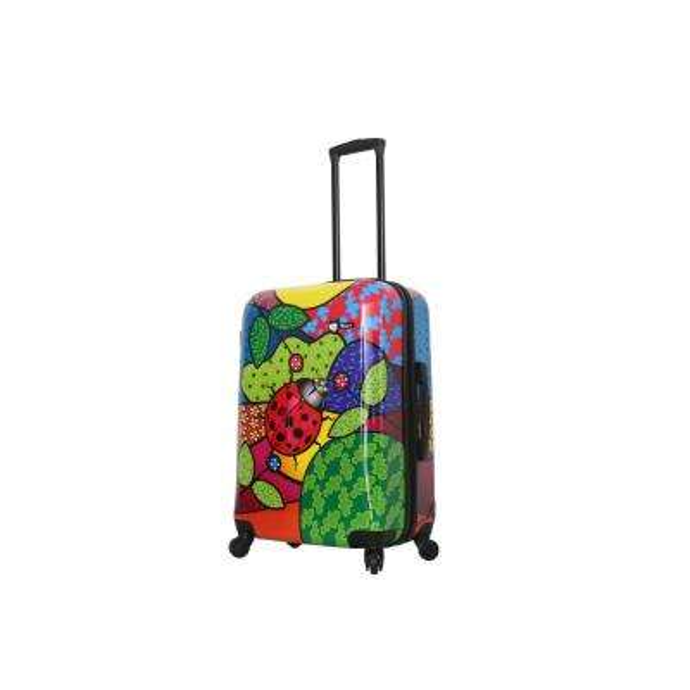 Allegra 24 in. Pop Ladybug Spinner Suitcase