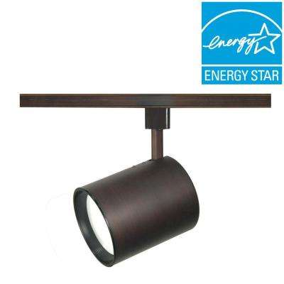 1-Light Russet Bronze Track Lighting Head