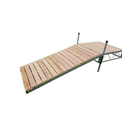 4 ft. x8 ft. Shore Ramp Kit With Cedar Decking