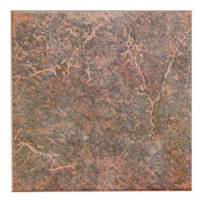 Ardesia Brown 12 in. x 12 in. Porcelain Floor and Wall Tile (20.45 sq. ft. / case)