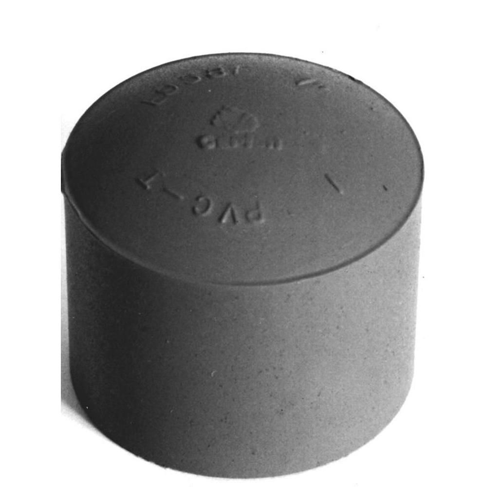 In pvc pipe cap pack e k the home depot