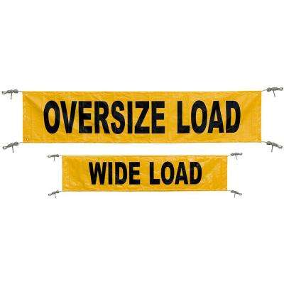 Reversible Wide Load Banner