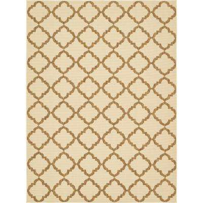 "Outdoor Beige 8' x 11'4"" Indoor/Outdoor Rug"