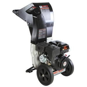 Brush Master 3 inch Dia 270cc Feed, Unique and Versatile 3-in-1 Discharge, Chromium Chipper Shredder by Brush Master