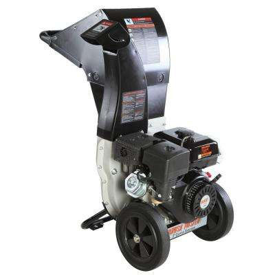 3 in. Dia 270cc Feed, Unique and Versatile 3-in-1 Discharge, Chromium Chipper Shredder