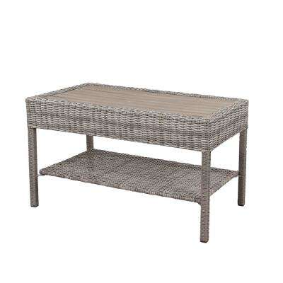 Cambridge Grey Wicker Outdoor Coffee Table