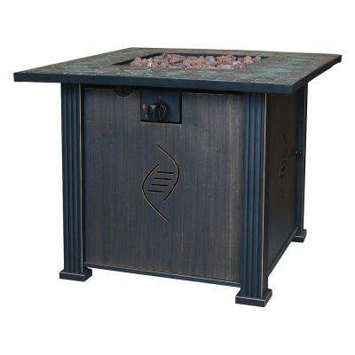 24 in. H x 30 in. W Rockwell Gas Fire Table