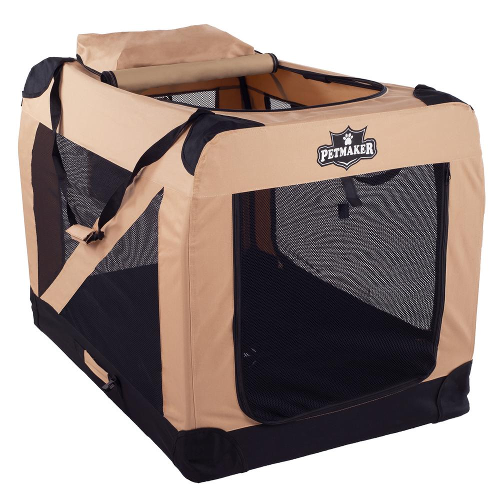 large soft dog crate