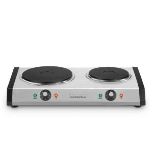 Cuisinart-2-Burner 8 in. Cast Iron Hot Plate with Temperature Control