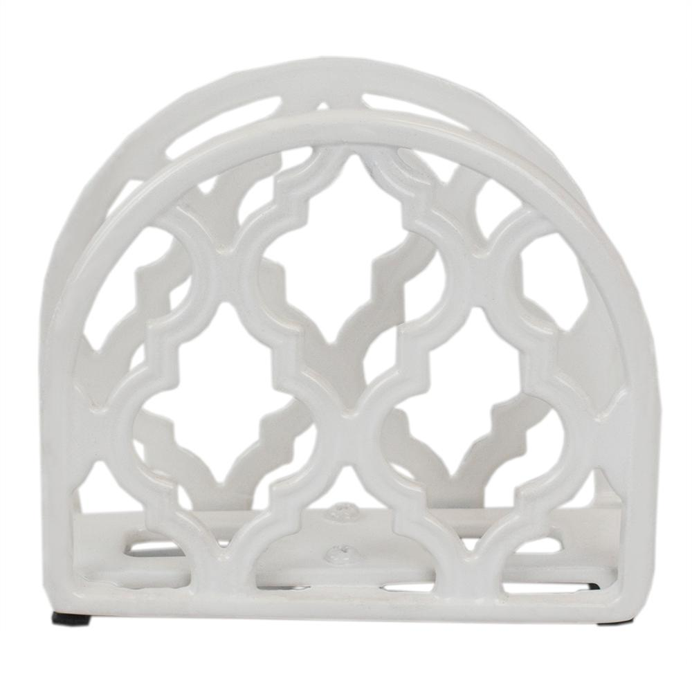 Cast Iron Lattice Napkin Holder