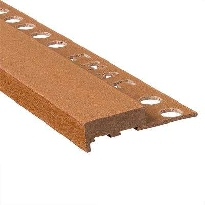 Novopeldano Maxi Tokyo Wood 3/8 in. x 98-1/2 in. Composite Tile Edging Trim