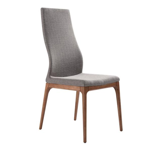 Parker Gray Fabric Dining Chair - Set of 2
