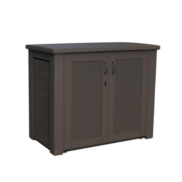 Rubbermaid Bridgeport 123 Gal. Resin Patio Cabinet