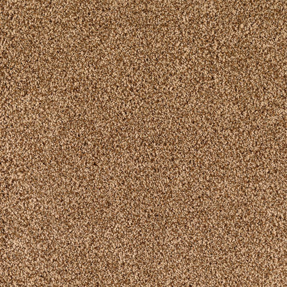Lavish II - Color Baked Scone 12 ft. Carpet