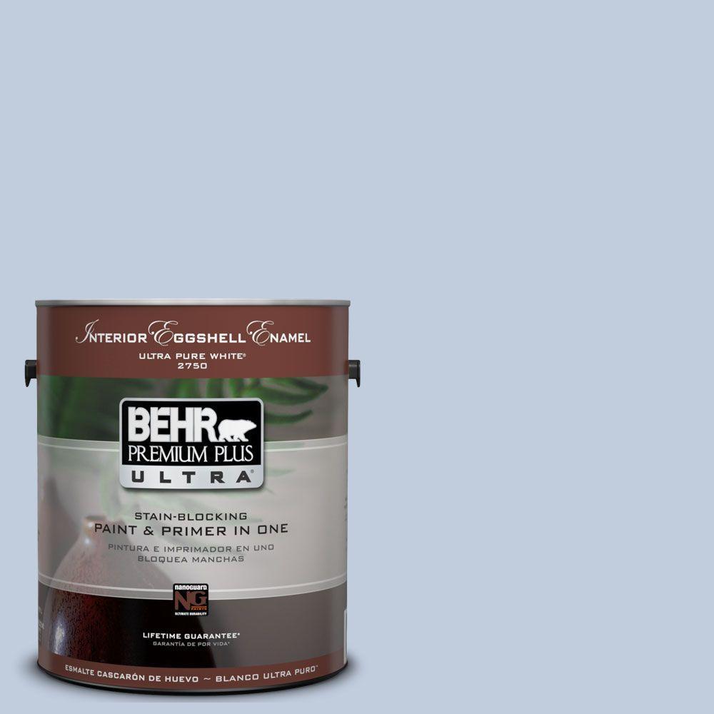 BEHR Premium Plus Ultra 1-gal. #UL240-13 Monet Interior Eggshell Enamel Paint