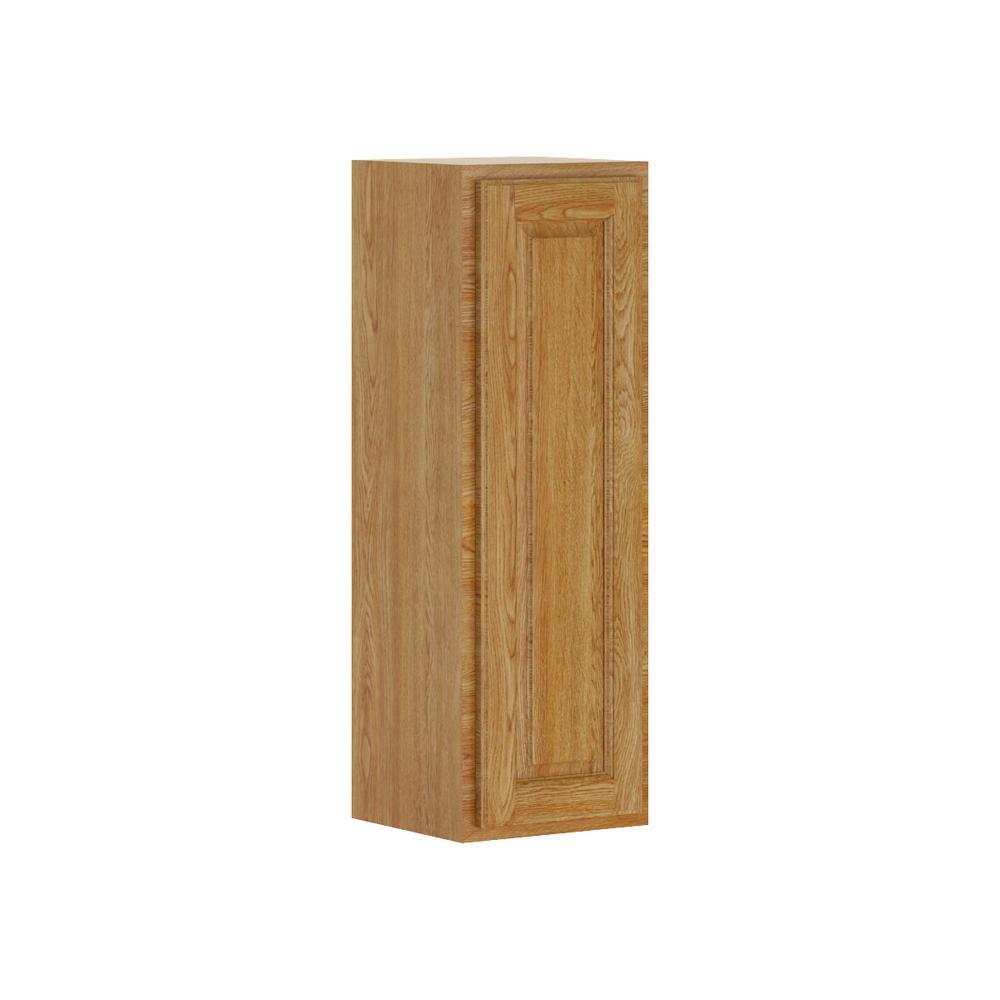 Wall Cabinet In Medium Oak