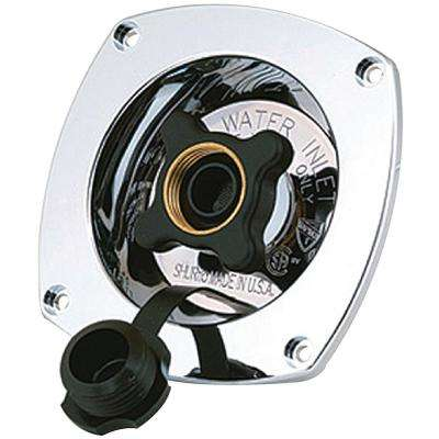 Wall Mount Water Pressure Regulator 65 PSI in Chrome