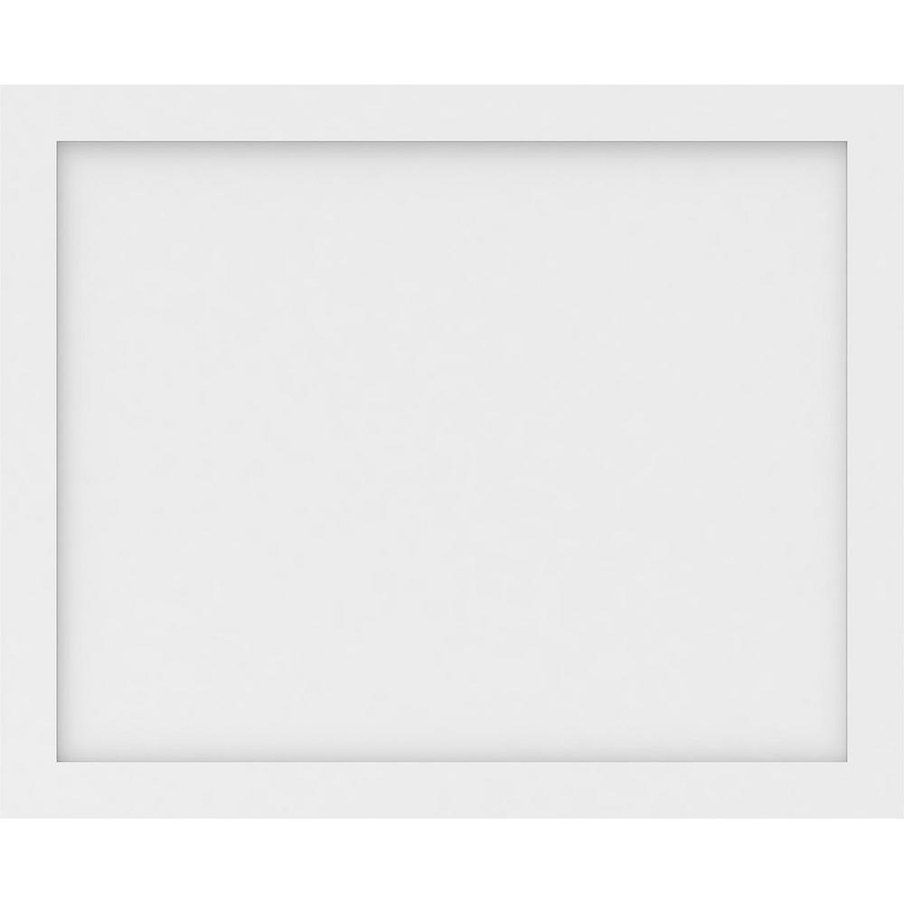 Ekena Millwork 5/8 in. x 2-2/3 ft. x 2 ft. Cornell Flat Panel White PVC Decorative Wall Panel