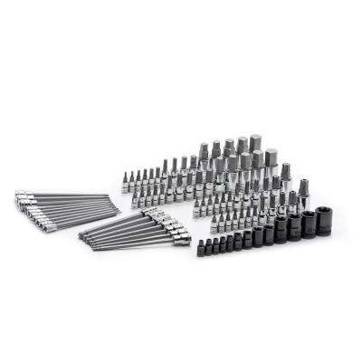 Master SAE/Metric Hex and Torx Bit Socket Set (84-Piece)