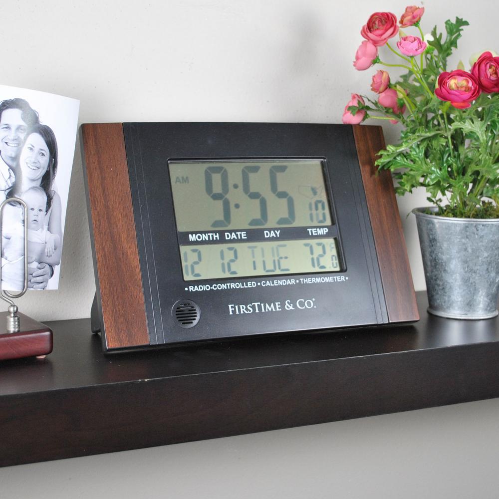 Executive Black Digital Clock