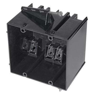 2-Gang 34 cu. in. Nail-On Outlet Box (50-Pack)