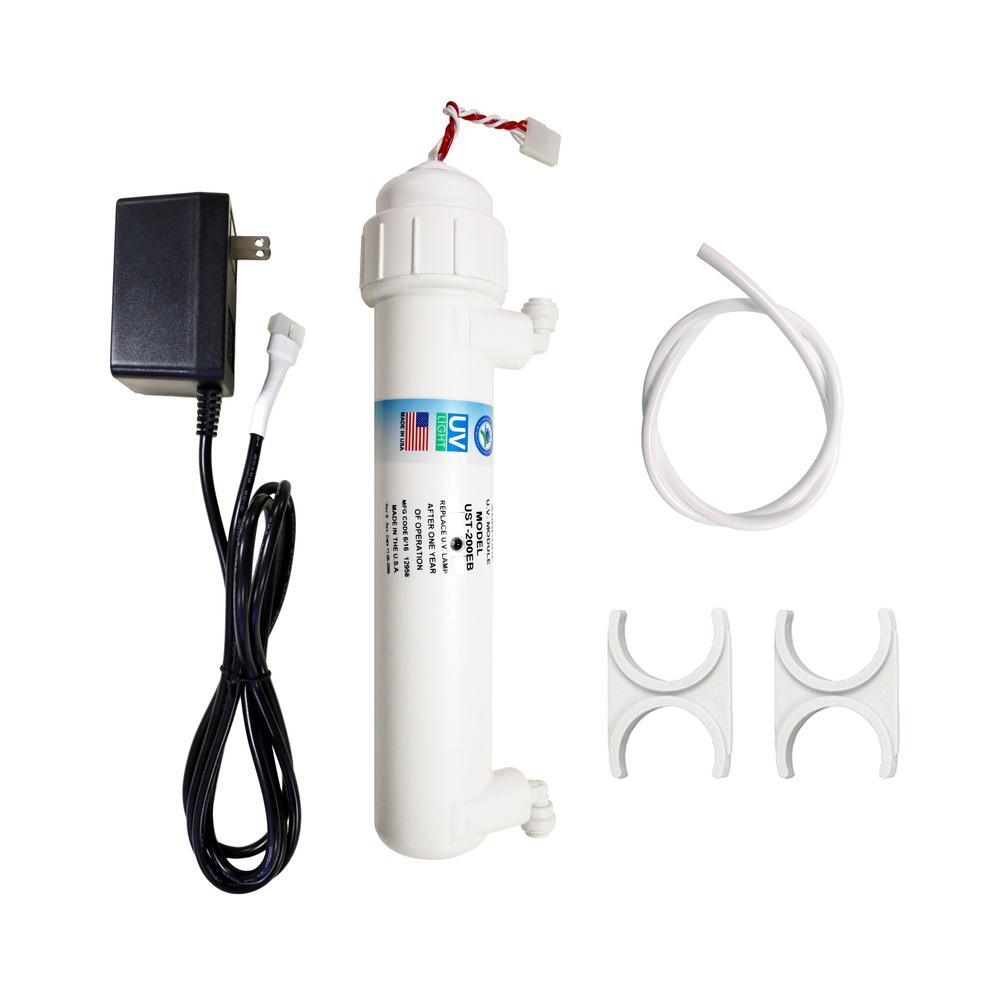 UV Ultra Violet Sterilizer Water Filter Kit with 1/4 in. Quick