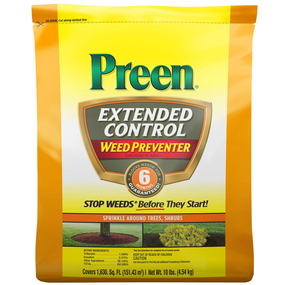Preen Preen 10 lbs. Extended Control Weed Preventer