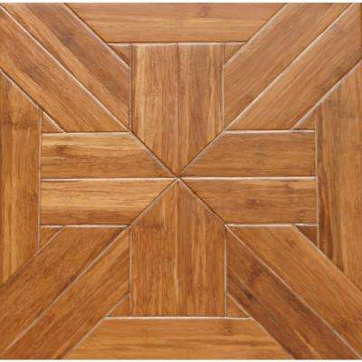 Tuscan 9/16 in. Thick x 15.75 in. Wide x 15.75 in. Length Engineered Parquet Hardwood Flooring (17.22 sq. ft. /case)