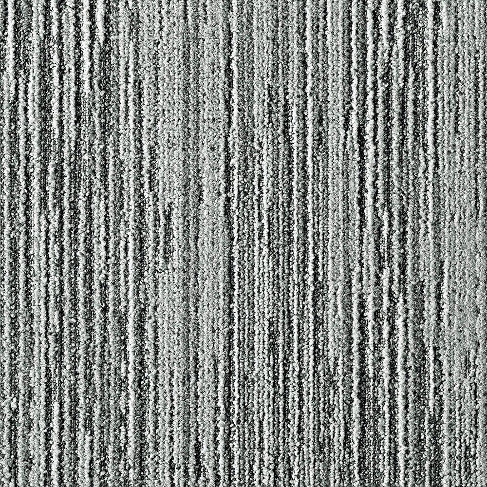 FLOR Fully Barked Fog 19.7 in. x 19.7 in. Carpet Tile (6 Tiles/Case)