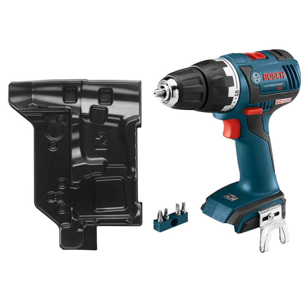bosch 18 volt lithium ion cordless 1 2 in ec brushless compact variable speed tough drill. Black Bedroom Furniture Sets. Home Design Ideas