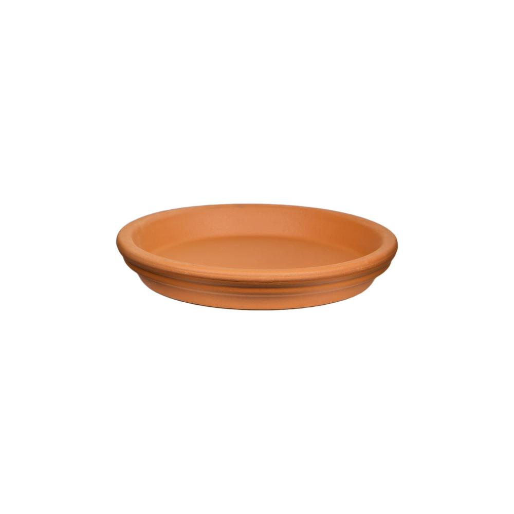 Pennington 12.25 in. Terra Cotta Clay Saucer