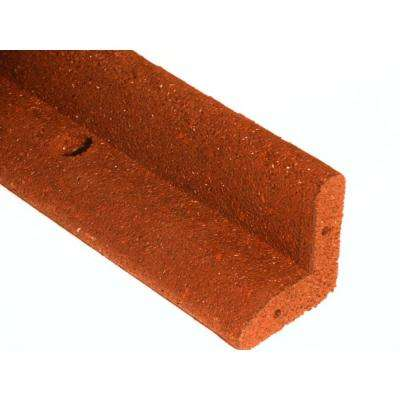 4 ft. L x 2.750 in. W Red Rubber Landscape Edging