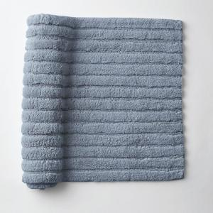 Green Earth Quick Dry Sea 21 In X 34 Solid Cotton Bath Rug