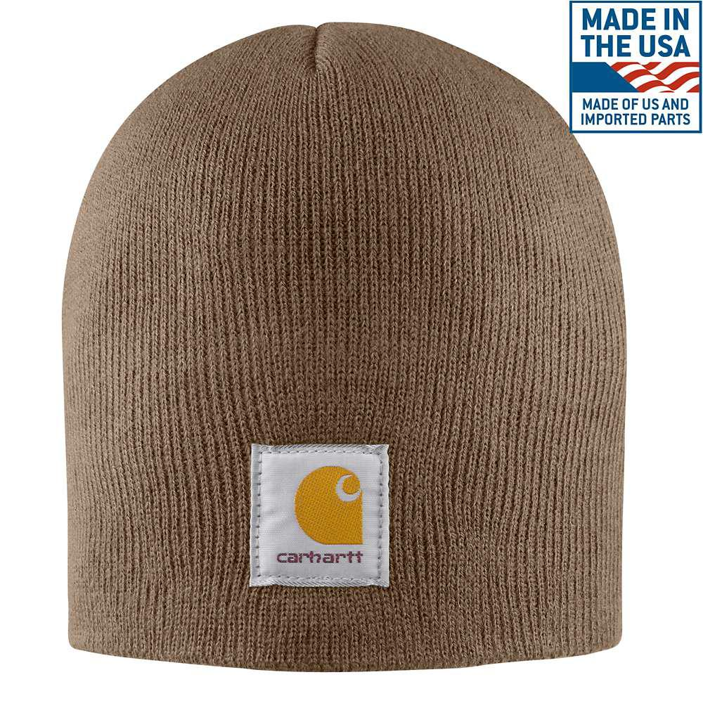 3e01ff04da4 Carhartt Men s OFA Canyon Brown Acrylic Hat Headwear-A205-CBR - The ...