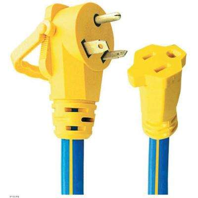 30A Male - 15A Female Adapter With E-Zee Grip