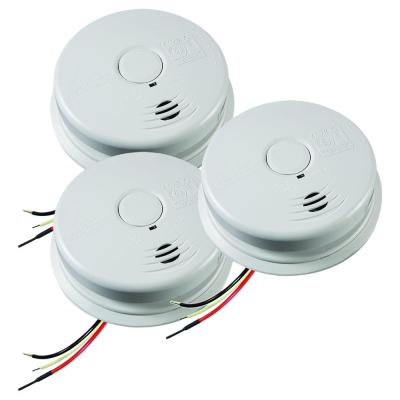 10-Year Worry Free Hardwire Smoke Detector with Battery Backup (3-Pack)