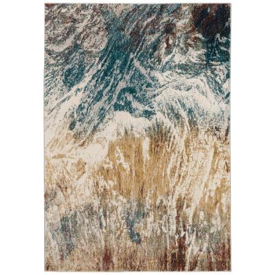 Gentry 17 Multi 8 Ft. x 10 Ft. Abstract Watercolor Area Rug