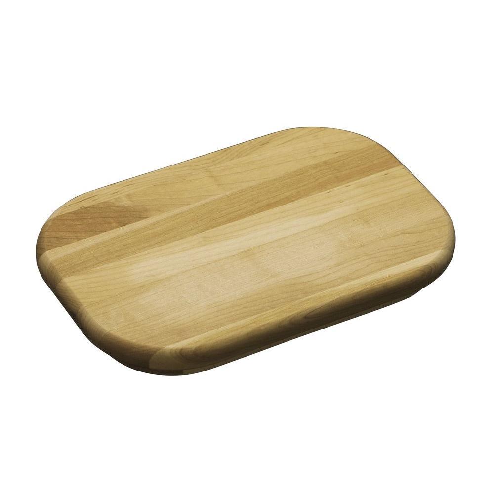 KOHLER Staccato Hardwood Cutting Board