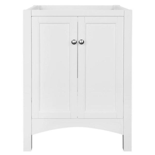 Haven 24 in. W Bath Vanity Cabinet Only in White