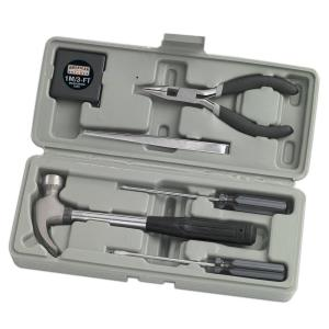 Click here to buy American Builder Home Owner Tool Set (7-Piece) by American Builder.
