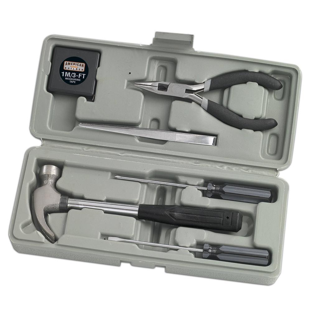 American Builder Home Owner Tool Set (7-Piece) by American Builder