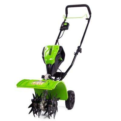 PRO 8 in. 60-Volt Electric Cordless Cultivator with 2.5 Ah Battery and Charger