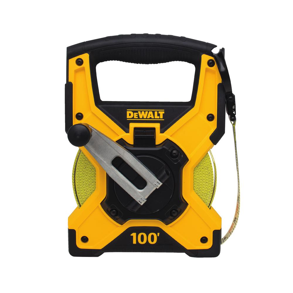 Closed Reel Long Tape Measure 100 Ft